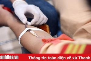 Năm 2020: Toàn tỉnh phấn đấu tiếp nhận trên 26.000 đơn vị máu