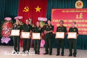 Họp mặt kỷ niệm 30 năm Ngày truyền thống Hội Cựu chiến binh Việt Nam