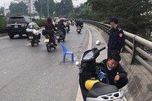 Tạm giữ hình sự tài xế gây tai nạn chết người rồi bỏ chạy trên phố Hà Nội