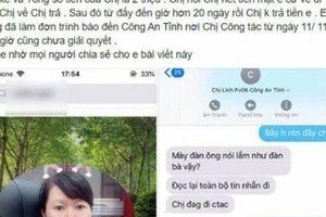 Thông tin bất ngờ vụ nữ trung tá công an ở Thái Bình bị tố thuê xe rồi 'quỵt' tiền tài xế