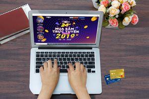 Sacombank ưu đãi lớn nhân ngày mua sắm trực tuyến Việt Nam 2019
