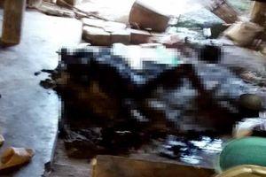 1 phụ nữ chết cháy vì quấn chăn ngủ cạnh bếp lửa