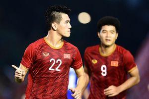 Tiến Linh chưa thể dẫn đầu danh sách ghi bàn ở SEA Games