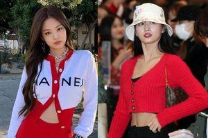Jennie và dàn mỹ nhân Hàn mùa đông vẫn mặc áo len ngắn khoe eo thon