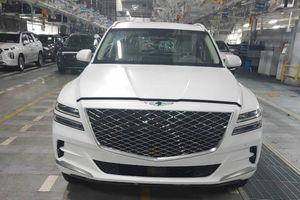 SUV hạng sang Hàn Quốc Genesis GV80 2020 lộ ảnh thực tế