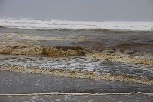 Vụ nước biển chuyển màu ở Quảng Ngãi: Không ngửi thấy mùi dầu, không có hải sản chết