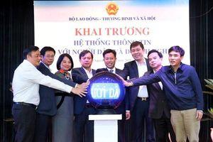 Bộ LĐTB&XH khai trương hệ thống thông tin kết nối với người dân và DN