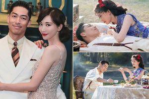 Siêu mẫu xứ Đài Lâm Chí Linh say đắm bên chồng trẻ sau kết hôn