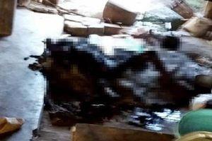 Quấn chăn ngủ cạnh bếp lửa, 1 phụ nữ bị thiêu chết