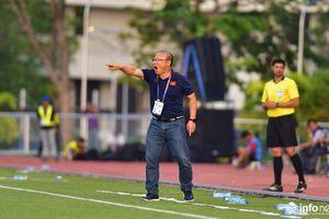 Thầy Park thể hiện bản lĩnh của nhà vô địch trong trận đấu với U22 Thái Lan