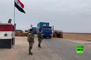 Vũ khí Nga lũ lượt kéo tới khu vực Mỹ 'chạy trốn' khỏi đông bắc Syria