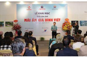 Trao giải cuộc thi ảnh 'Mái ấm gia đình Việt'