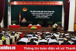 Thông báo thời gian, nội dung, chương trình kỳ họp thứ 11, HĐND tỉnh Thanh Hóa khóa XVII