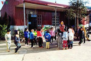 Học sinh vùng cao Sìn Hồ được đảm bảo giữ ấm trong những ngày giá rét
