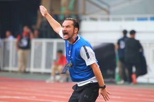 HLV Myanmar la hét ở trận gặp U22 Indonesia