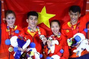 Việt Nam đứng vị trí thứ 3 Bảng tổng sắp