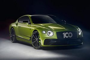 Ngắm xe siêu sang thể thao Bentley Continental GT Pikes Peak