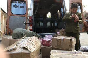 Lạng Sơn: Thu giữ số lượng lớn mỹ phẩm nhập lậu