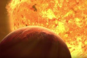 Hình ảnh chấn động về viễn cảnh Mặt trời 'ăn thịt' Trái đất