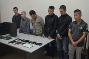 Đường dây cá độ bóng đá hơn 75 tỷ đồng qua mạng internet ở Nghệ An