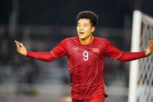 Đức Chinh lập hat-trick, chính thức trở thành vua phá lưới của Sea Games 30