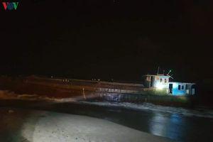 Tàu không người lái, mang số hiệu Trung Quốc dạt vào bờ biển Hà Tĩnh