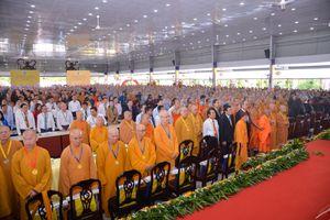 Kỷ niệm 35 năm thành lập Học viện Phật giáo Việt Nam tại TP Hồ Chí Minh