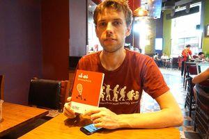 Dịch giả Ondra Slowik: Những tác phẩm như 'Số đỏ' khiến độc giả Czech thú vị