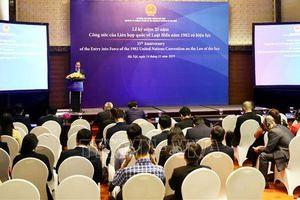 Nỗ lực thực thi UNCLOS vì hòa bình, ổn định trên Biển Đông
