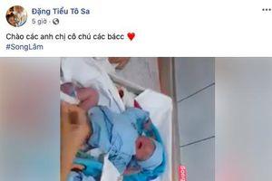 Mẹ chồng ca nương Kiều Anh sinh đôi 2 bé trai ở tuổi U50