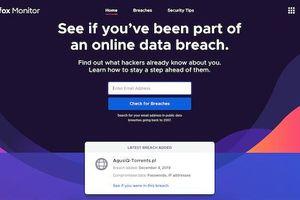 Cách phát hiện có bị lộ mật khẩu hay không