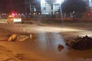 Tai nạn với xe container, nam thanh niên đi xe máy tử vong tại chỗ