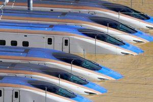 Tàu Shinkansen bị ngập vì bão, Nhật Bản nâng thiết bị sân ga lên 10 m