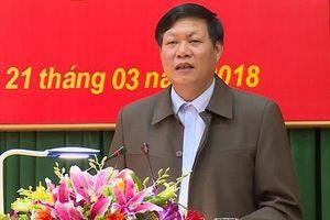 Phó bí thư Hưng Yên làm Thứ trưởng Bộ Y tế