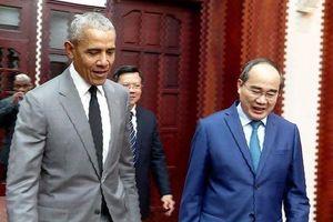 Lời hứa của cựu Tổng thống Mỹ Obama tại cuộc gặp Bí thư TP.HCM