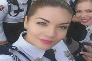 Ngắm vẻ đẹp nữ cảnh sát giao thông quyến rũ nhất Mexico