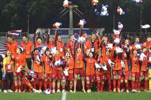Quỹ Hỗ trợ Tài năng trẻ Việt Nam tặng thưởng tuyển bóng đá nữ 250 triệu đồng