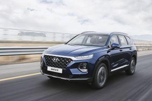 Hyundai SantaFe 2020 sẽ được trang bị động cơ 3.5L V6