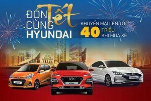 TC MOTOR giảm giá lên đến 40 triệu đồng cho 3 mẫu xe Hyundai
