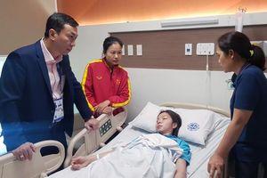 Vất vả thắng Thái Lan giành HCV SEA Games, nữ tuyển thủ Việt Nam nhập viện cấp cứu vì kiệt sức