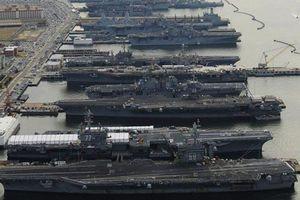 Hơn một nửa hạm đội tàu sân bay Mỹ phải 'nằm cảng'