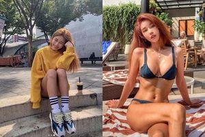 Người mẫu nóng bỏng Hàn Quốc mặc áo dài xuyên thấu lộ nội y ở Đà Nẵng