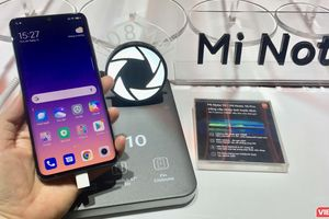 Xiaomi ra mắt Mi Note 10, đưa người dùng vào 'kỷ nguyên' 5 camera