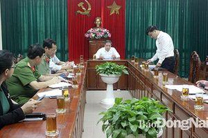 Rà soát chuẩn bị Hội nghị giao chỉ tiêu kinh tế - xã hội năm 2020