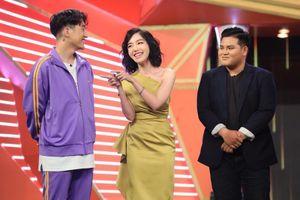Trường Giang khiến Elly Trần ngã mạnh ở game show