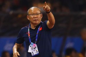 Trợ lý ông Park họp báo sau chiến thắng của U22 Việt Nam