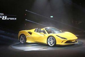 Siêu xe Ferrari F8 Spider ra mắt thị trường Mỹ