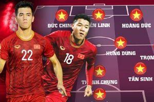 Đội hình ra sân, danh sách cầu thủ của 2 đội U22 Việt Nam vs U22 Indonesia