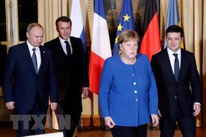 Các nhà lãnh đạo đánh giá tích cực Hội nghị Nhóm Bộ tứ Normandy