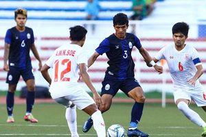 Thua cay đắng trên loạt sút luân lưu, U22 Campuchia ngậm ngùi nhìn U22 Myanmar giành HCĐ SEA Games 30
